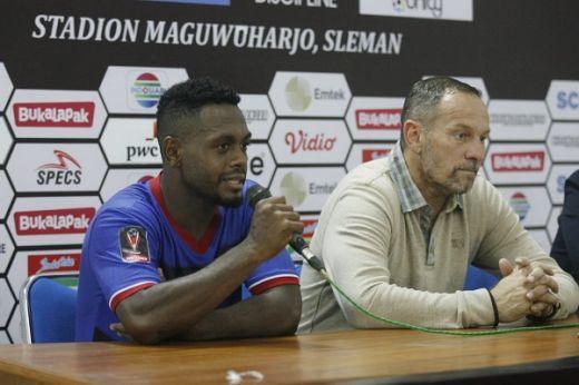Ini Komen David Laly Usai Jalani Debut di Madura United