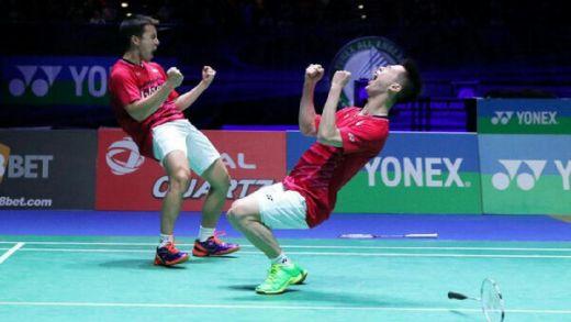 Juara Malaysia Terbuka, Kevin/Marcus Raih 3 Gelar Beruntun di 2017