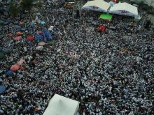 Teriakan Warga ke Prabowo: Wong Kito Galo Cucuk Nomor 2 Pak!!