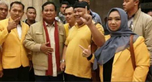 Membelot Dukung Prabowo, Kader Golkar Wonosobo Tak Takut Dipecat