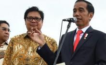Airlangga Sarankan Jokowi Geser Moeldoko