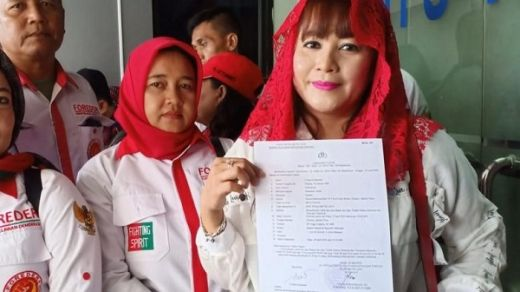 Caleg PDIP Dewi Tanjung: Tak Ada Kata Damai, Egy Sudjana Harus Minta Maaf ke Rakyat dan Jokowi