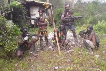 Kembali Tebar Teror, Teroris OPM Tembaki Polsek dan Bakar Rumah Penduduk Ilaga Papua
