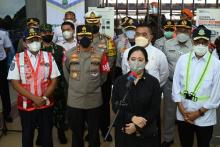 Hari Ini, Puan Akan Tinjau Larangan Mudik di Tiga Provinsi Sekaligus