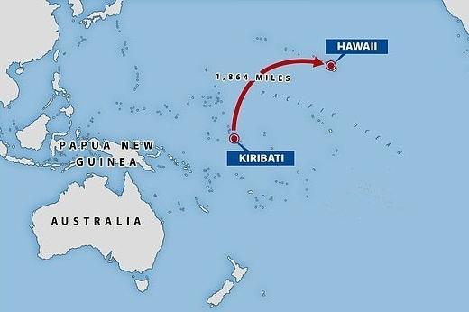 China akan Pugar Landasan Udara di Kiribati