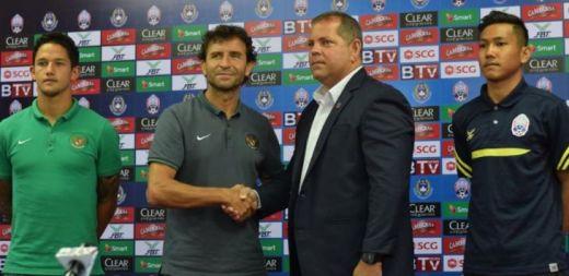 Timnas Garuda Kandaskan Kamboja 0-2, Luis Milla Kirim Ancaman untuk Puerto Rico
