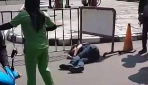 Pria Tewas di SPBU Daan Mogot, Kepalanya Ditembak Perampok, Ini Penampakannya