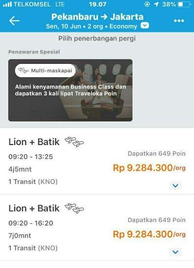 Harga Tiket Pesawat PKU - Soetta Capai Rp9 Juta dengan 1 Kali Transit, Arus Balik di Bandara SSK II Sepi Penumpang