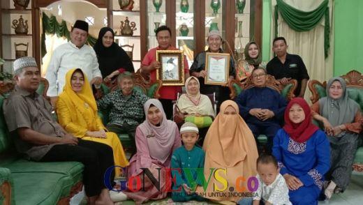 Terima Penghargaan Pejuang Kemerdekaan, Keluarga Ahli Waris Kapten Mansyurdin Gelar Syukuran