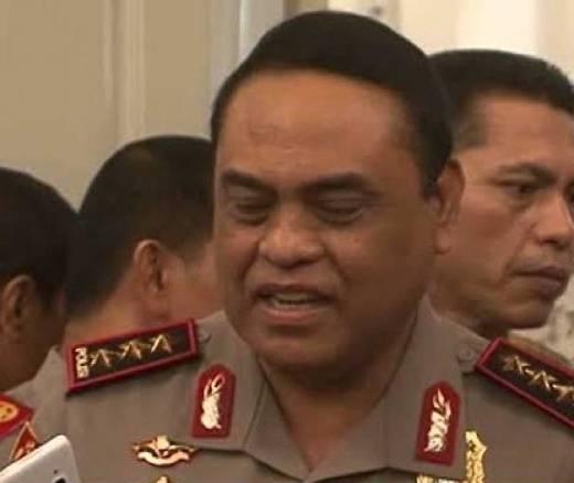 Komjen BG Dilantik Jadi Kepala BIN, Jenderal Tito Pilih Syafruddin Jadi Wakapolri