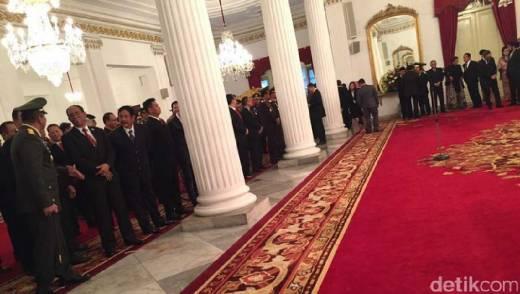 Komjen Pol Budi Gunawan Resmi Menjabat Kepala BIN Usai Dilantik Presiden Jokowi di Istana Sore Ini