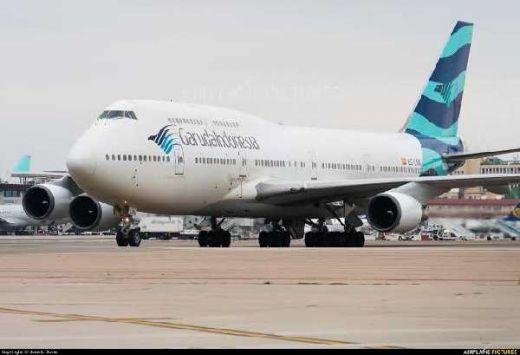 Sudah Beroperasi sejak 1994, Garuda Indonesia Pensiunkan Pesawat Boeing 747-400
