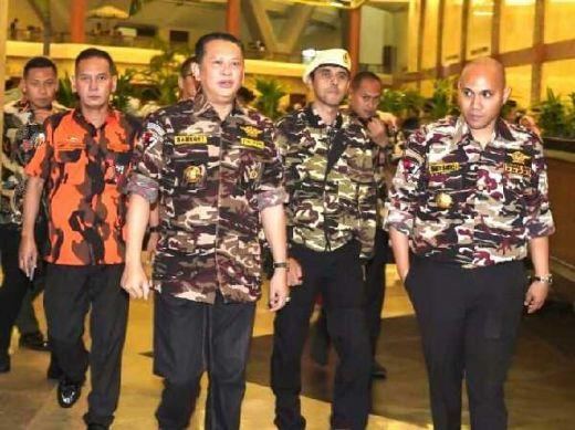 Desak Tetap Maju di Bursa Caketum Golkar, GM FKPPI: Bamsoet Punya Leadership Mumpuni