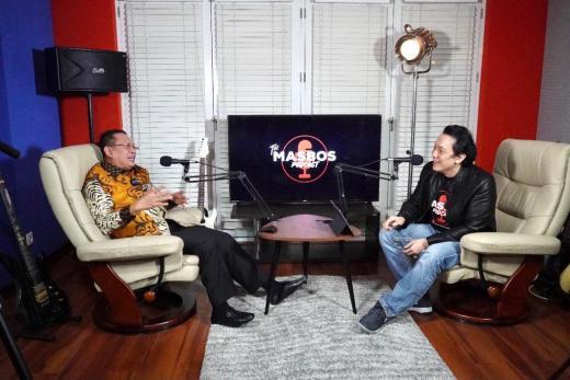Ngobras Bareng Diaz Hendropriyono, Bamsoet Sosialisasikan Tugas, Fungsi dan Kedudukan MPR RI