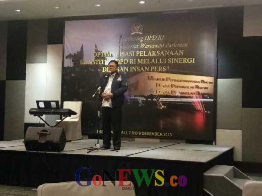 Tutup Press Gatering di Bali, Oesman Sapta : DPD RI Akan Terus Perkuat Konsolidasi dan Koordinasi