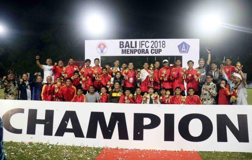 Luar Biasa ... Bara FC Juara Setelah Kalahkan Timnas Pelajar U 15