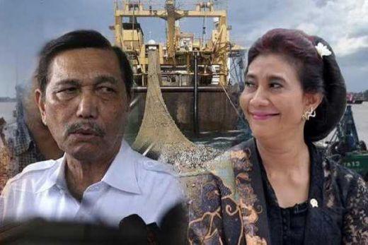 Luhut Larang Susi Tenggelamkan Kapal Asing, IPW: Jangan Takut Bu Menteri, Lanjutkan!