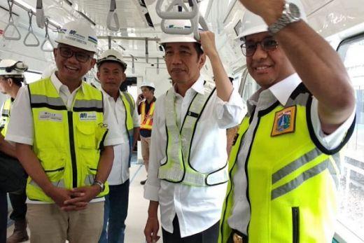 Jawab Isu Hubunganya dengan Anies Baswedan, Jokowi: Ada Masalah Gimana Wong Sering Ketemu dan Guyon Bareng