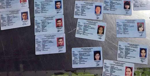 Jelang Pilkada, Kiriman e-KTP Palsu Datang dari Kamboja