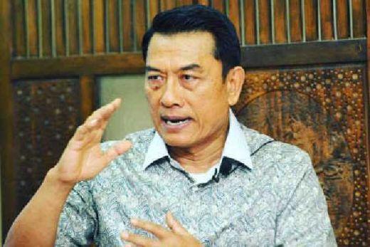 Moeldoko Apresiasi TNI-AL, Atas Penangkapan Kapal Berisi 1 Ton Sabu-sabu