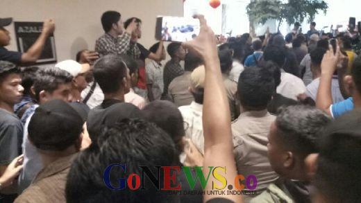 Jelang Pembukaan, Kongres PAN di Kendari Ricuh