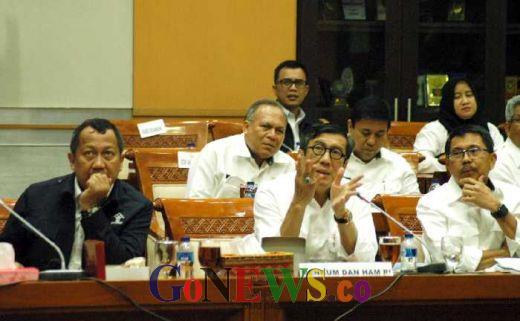 Penjara di Indonesia Termasuk Riau dan Sumut Over Kapasitas, Ini Strategi Menteri Yasona H Laoly
