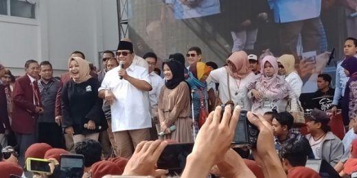 Prabowo Tak Dapat Izin Kampanye di Semarang, KPU Minta BPN Lapor Bawaslu