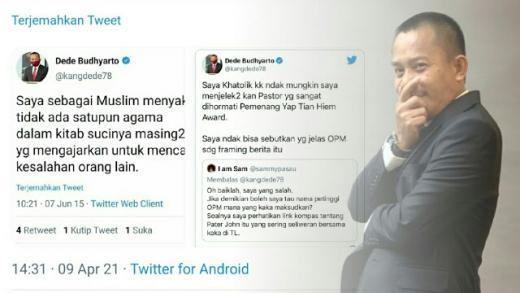 Sindir Komisaris PT Pelni, Tokoh Papua: Bocah Ini Agamanya Gak Jelas, Kok Nuduh Ulama Radikal