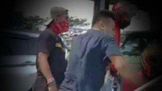 Gercepnya TNI, Belasan Orang Penghadang Mobil yang Dikemudikan Babinsa sudah Diamankan