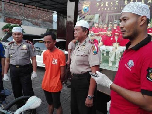 Pencuri Sepeda Yang Ketangkap Polisi Ini Nekat Beraksi Karena Ketagihan