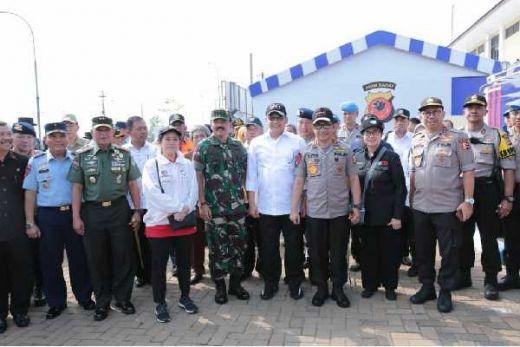Pastikan Kelancaran Mudik, Panglima TNI dan Kapolri Pantau Arus Jalur Trans Jawa