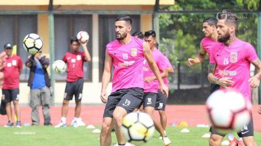 Latihan Perdana Borneo FC Berjalan Lancar