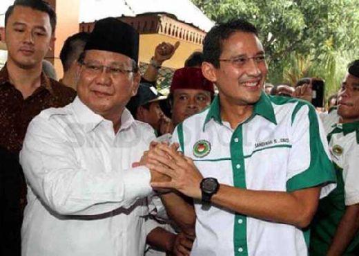Sah... Prabowo Subianto-Sandiaga Uno Deklarasi Capres-Cawapres 2019