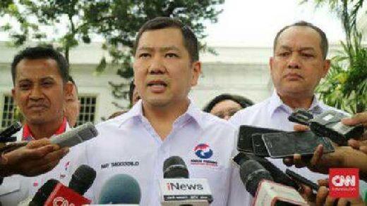 Hary Tanoe: Koalisi Jokowi Sudah Solid, Peluang Demokrat Tertutup