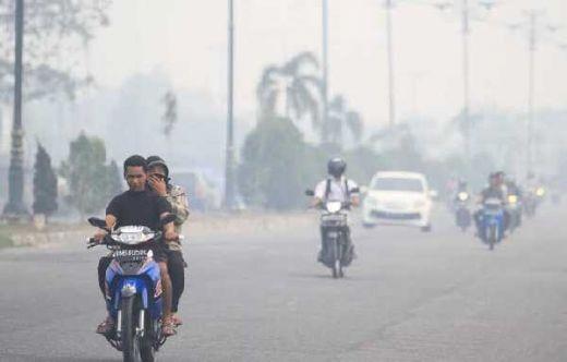 BNPB: Meski Kategori Tidak Sehat, Kualitas Udara Pekanbaru Mulai Membaik