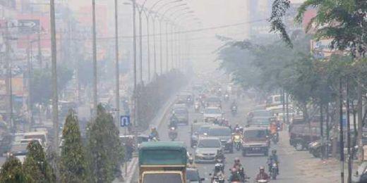 Kabut Asap Karhutla Meningkat, Kualitas Udara Kota Pekanbaru di Level Kurang Sehat