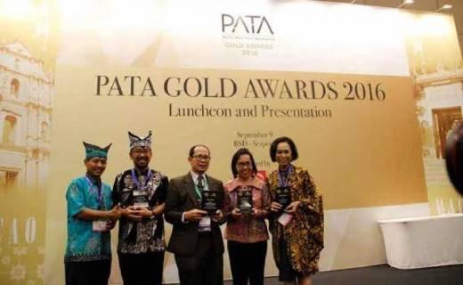 Mantap..., Indonesia Kembali Sabet 4 PATA Gold Award 2016