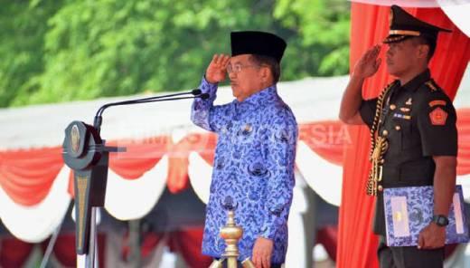 Wapres Jusuf Kalla: ASN Jangan Terkotak-Kotak!