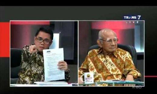 Sebut Prof Emil Salim Sesat di Mata Najwa, Politisi PDIP Arteria Dahlan Dihujat Netizen
