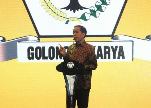 Soal Dukungan Caketum Golkar, Jokowi Tegaskan: Itu Urusan Internal