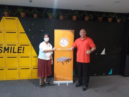 FITEQ Kirim Pelatih Tangani Pelatnas Timnas Teqball Indonesia