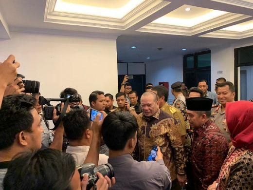 Ketemu Ketua DPD, Gubernur Lampung Mengadu Soal Pertanian dan Tambak Udang