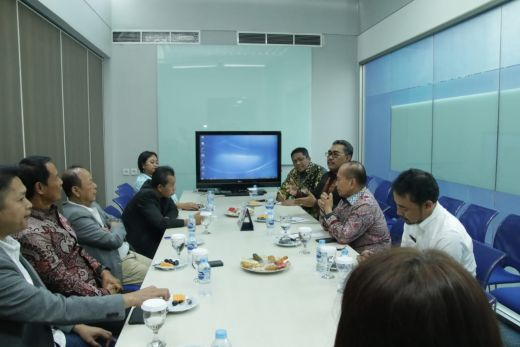 Bertemu Redaksi Tv Swasta, Pimpinan MPR Apresiasi Masukan Penggunaan IT Modern Dalam Kajian Kebangsaan