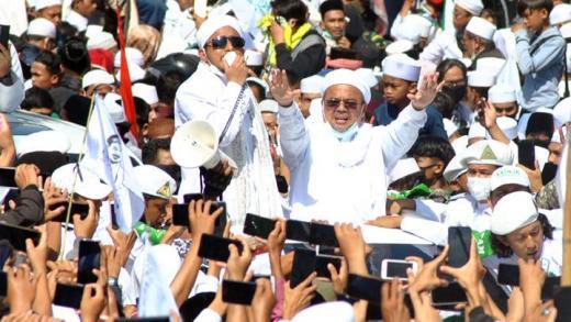 Kasus Kerumunan di Petamburan, Polda Metro Tetapkan HRS dan Panitia sebagai Tersangka
