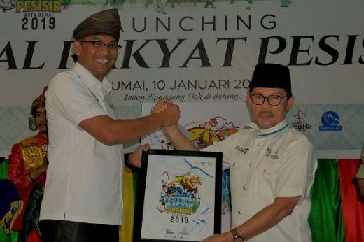Wali Kota Dumai Luncurkan Agenda Wisata Festival Rakyat Pesisir 2019