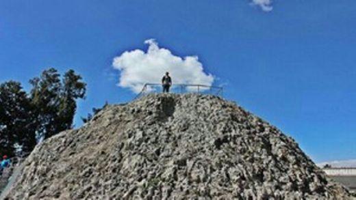 Inilah Gunung Api Terkecil di Dunia, Tingginya Hanya 8 Meter