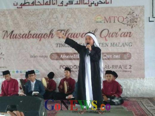 Air Mata Ratusan Jamaah Pecah saat Syekh Rasyid Ajak Peserta MTQ Kabupaten Malang Baca Al Quran