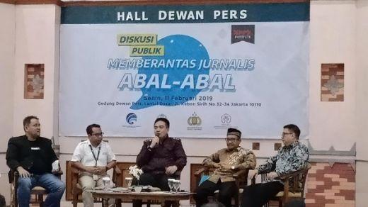 Berantas Hoax dan Media Abal-abal, Dewan Pers Bentuk Satgas Media Online
