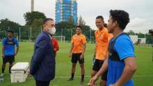 Ketua Umum PSSI Motivasi Pemain Timnas SEA Games 2021