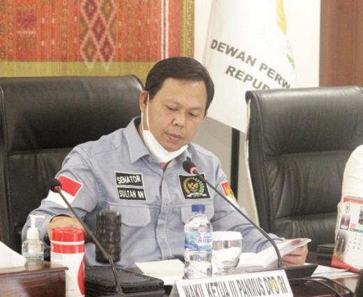 KUR 2021 Naik 253 T, Sultan Najamudin: Sektor UMKM Bisa Selamatkan Ekonomi Nasional